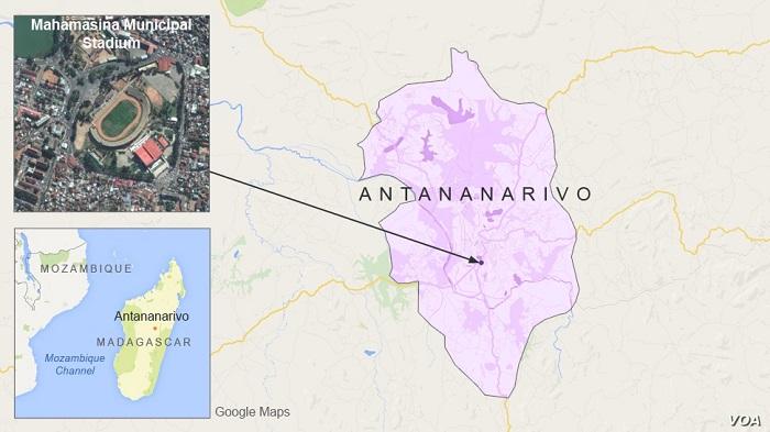 Stadium stampede in Madagascar' kills 15, wounds 80 during national celebrations