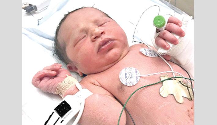 'Newborn baby found in plastic bag'
