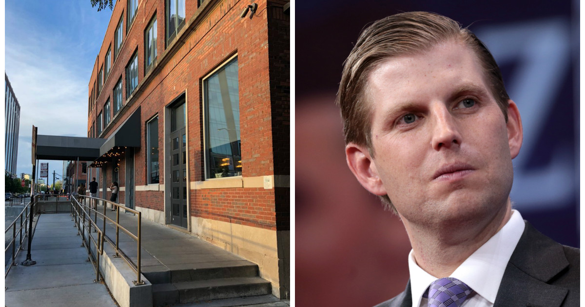Waitress Spit on Eric Trump at Chicago Bar