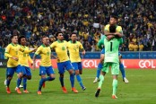 Brazil beat Paraguay on penalties to reach Copa America semi-finals