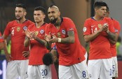 Chile knock out Colombia in penalty kicks