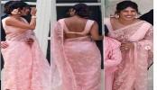 Priyanka Chopra stuns in pink saree at Joe Jonas, Sophie Turner wedding