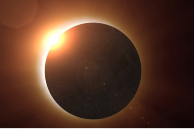 Total eclipse of the sun on Tuesday