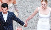 Sophie, Joe tie the knot  for second time