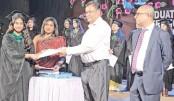 Graduation ceremony held  at Scholastica