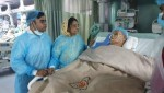 Raushan recites Holy Quran at CMH for Ershad's recovery