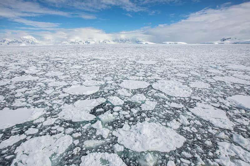Antarctic sea ice is declining dramatically