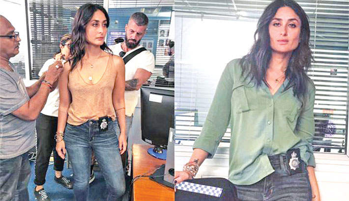Kareena's cop-look from Angrezi Medium is out