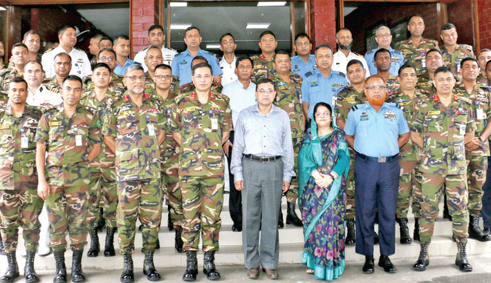 Participants of Armed Forces War Course (AFWC)-2019