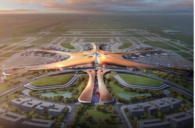 Beijing's huge new airport!
