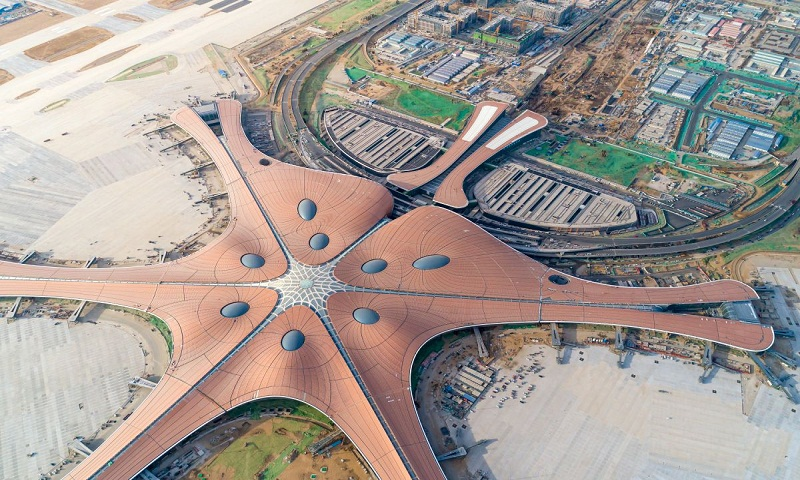 Beijing's new airport to open on eve of China's 70th birthday