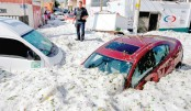 Freak hail storm strikes Mexican city of Guadalajara
