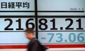 Asian shares fall back after S&P 500 hits fresh record high