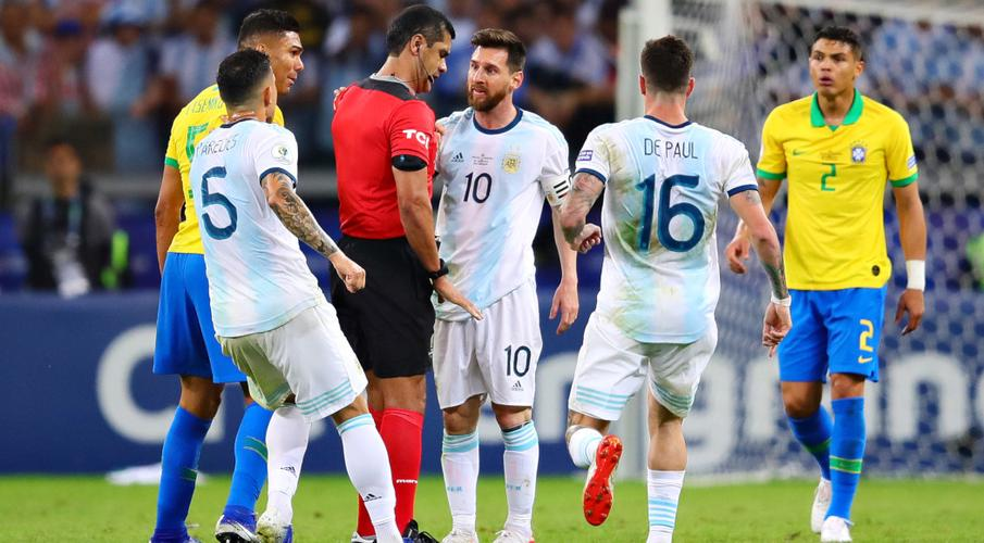 AFA lodges complaint with CONMEBOL over refereeing in Brazil defeat