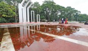 A worn out Central  Shaheed Minar ?