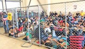 'Dangerous  overcrowding'  at Texas migrant detention centres
