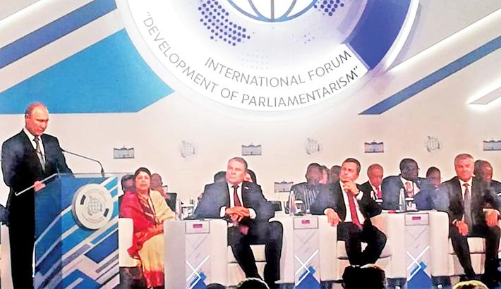 Putin for facing modern world challenges unitedly