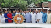 BSFMSTU VC pays homage to Bangabandhu
