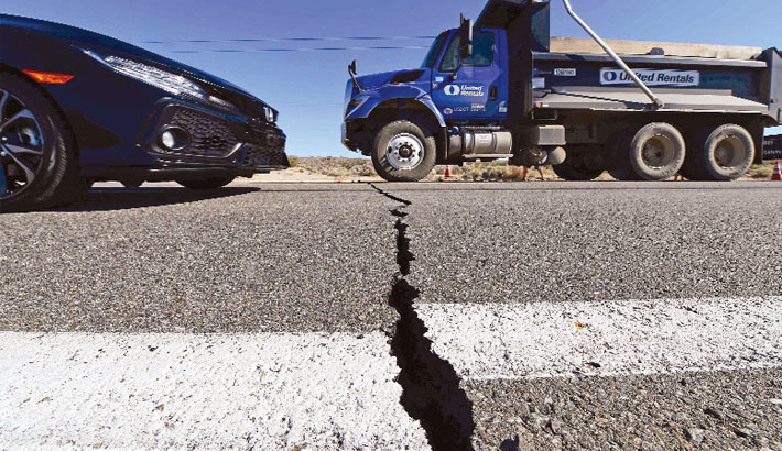 California hit by biggest earthquake in 20 years