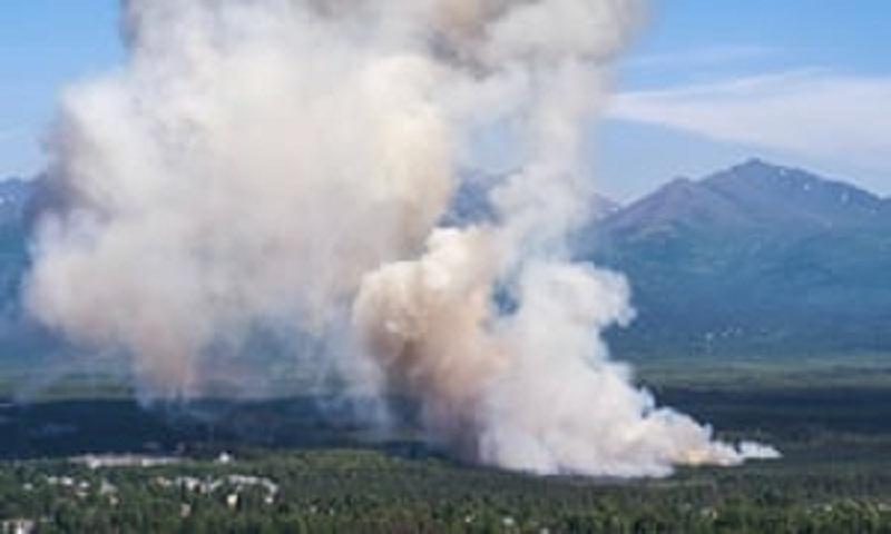 Alaska sees record temperatures in heatwave