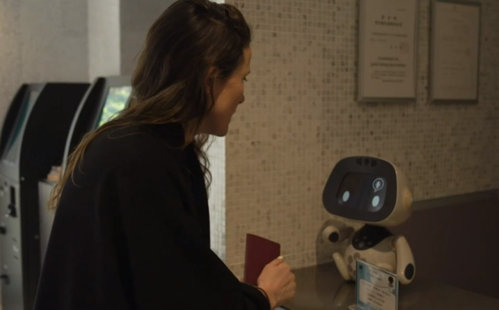 Date with a robot! (video)