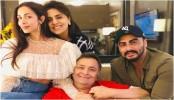 Malaika Arora, Arjun Kapoor meets Rishi and Neetu Kapoor in New York
