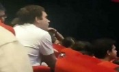 Rahul Gandhi watches Article 15 at Delhi multiplex (Watch)