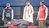 Loko Natydal stages Amra Tinjon at Nat'l Theatre Hall on Saturday