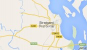 Two killed in Sirajganj road crash