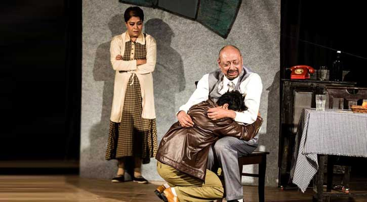Indian actor Anjan Dutt to perform in a stage drama in Dhaka