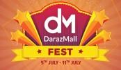 Daraz Mall  Fest 2019  held in city