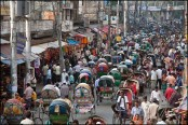 Rickshaw ban on three major roads in city from today