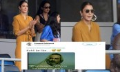 Anushka Sharma asks what is the signal for a four at India vs Sri Lanka World Cup match