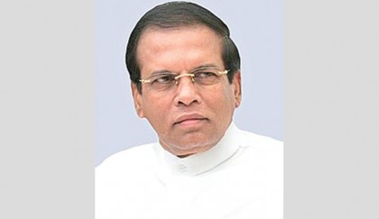 Lankan president vetoes military  deal with US