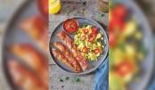 Rice Paper Fake  Bacon: A Vegan Dish