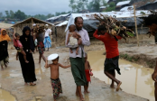 Woes of Rohingyas worsen as rains pound camps