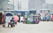 Waterlogging disrupts life in port city