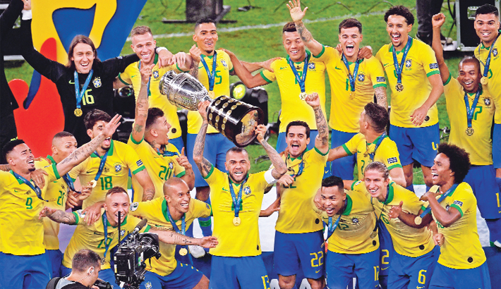 Brazil crowned with Copa America glory