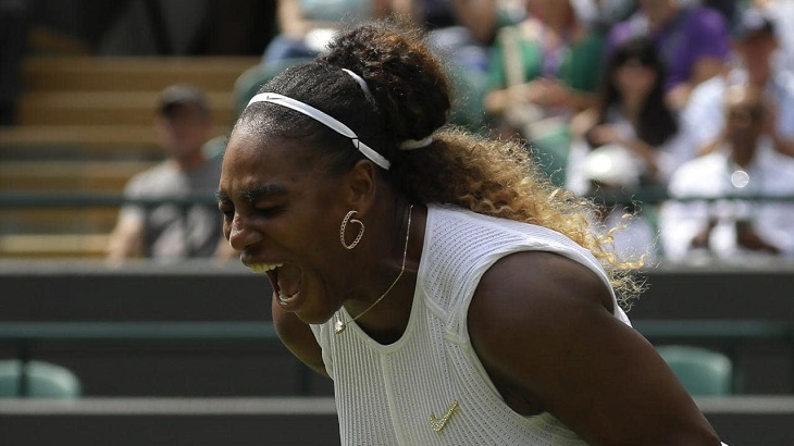 Serena fined $10,000 for Wimbledon court damage