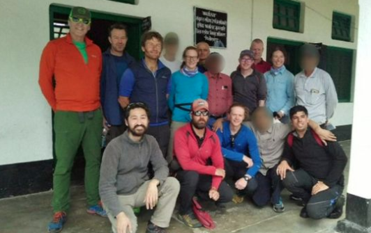 Video reveals Himalayan climbers' last moments