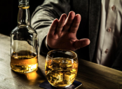 Quit alcohol for better mental health