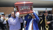 Rock 'n' roll pioneer Dave Bartholomew laid to rest