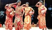 Sonai Madhab staged at Mahila Samity
