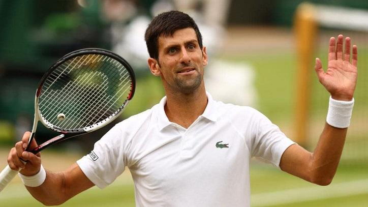 Djokovic into ninth Wimbledon semi-final