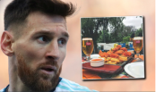 Messi's restaurant gives out free food to homeless