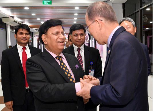 Marshall Island President Hilda, Ban Ki-moon leave Dhaka
