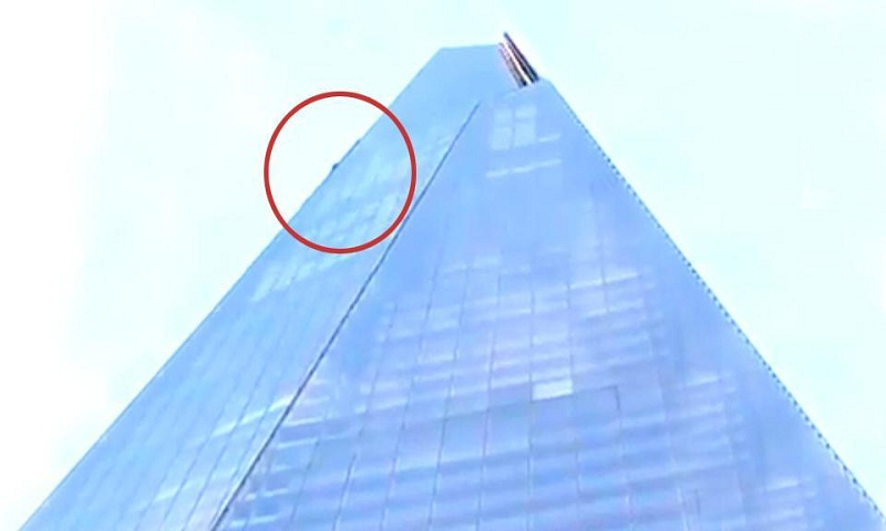 Daredevil climbs London's 1017 ft Shard skyscraper without ropes