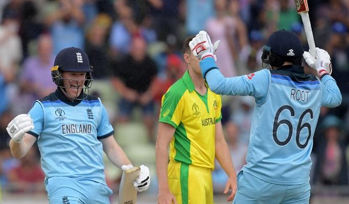 England reach World Cup final thrashing Australia by eight wickets