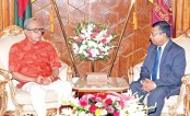 Bangladesh Ambassador in Iran AFM Gausul Azam Sarker calls on President Abdul Hamid