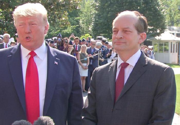 US Labour Secretary Alex Acosta resigns over Epstein case